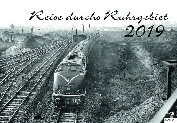 Reise durchs Ruhrgebiet Kalender 2019