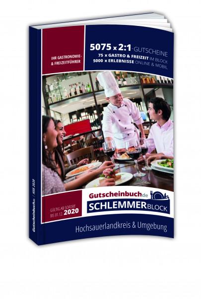 Hochsauerland 2020 Gutscheinbuch.de Schlemmerblock
