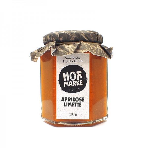 """""""Hofmarke"""" Aprikose - Limette - Fruchtaufstrich"""
