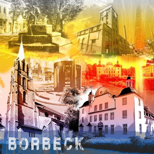 Collage Essen-Borbeck