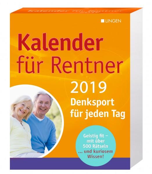 Kalender für Rentner 2019