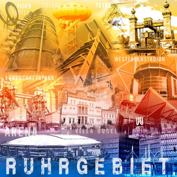 Collage Ruhrgebiet