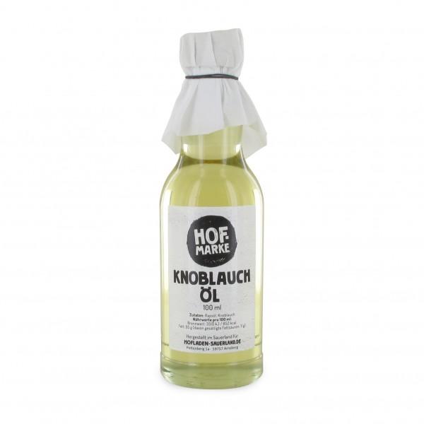 """Hofmarke"" Knoblauch Öl"