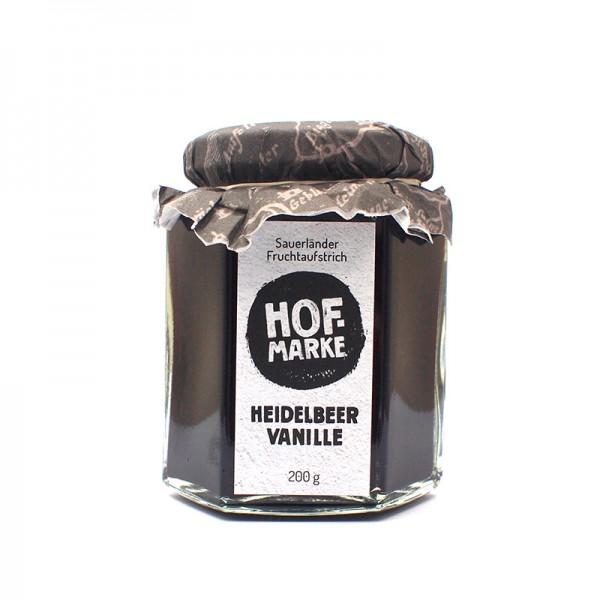 """""""Hofmarke"""" Heidelbeer-Vanille - Fruchtaufstrich"""