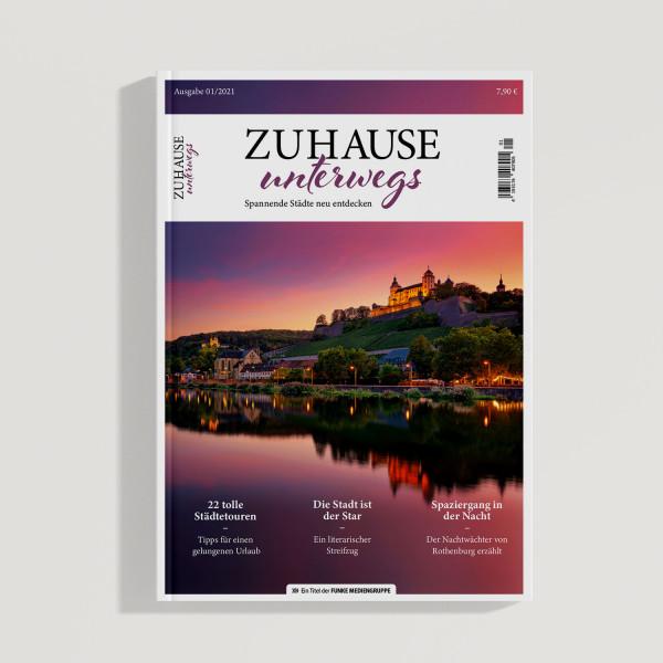 """Magazin """"Zuhause unterwegs - Spannende Städte neu entdecken"""""""