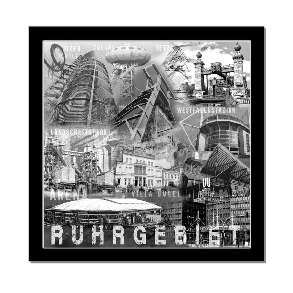 Collage Ruhrgebiet