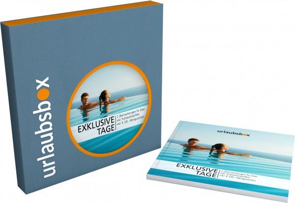 """Urlaubsbox """"Exklusive Tage"""""""