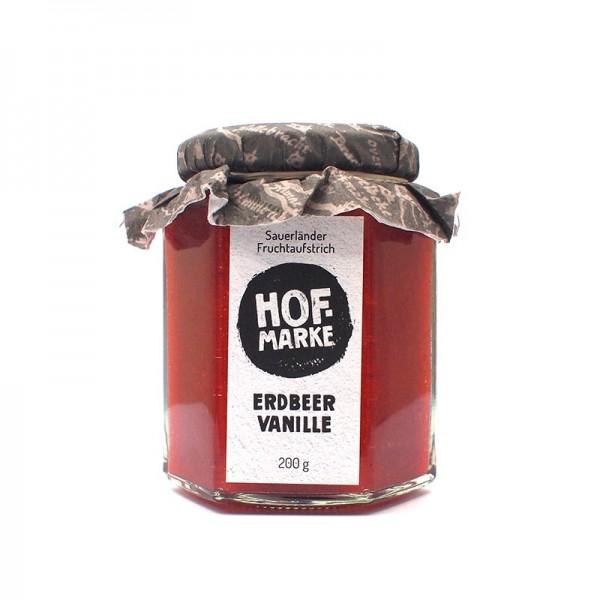 """""""Hofmarke"""" Erdbeere - Vanille - Fruchtaufstrich"""
