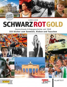 Panini Schwarz-Rot-Gold Softcover