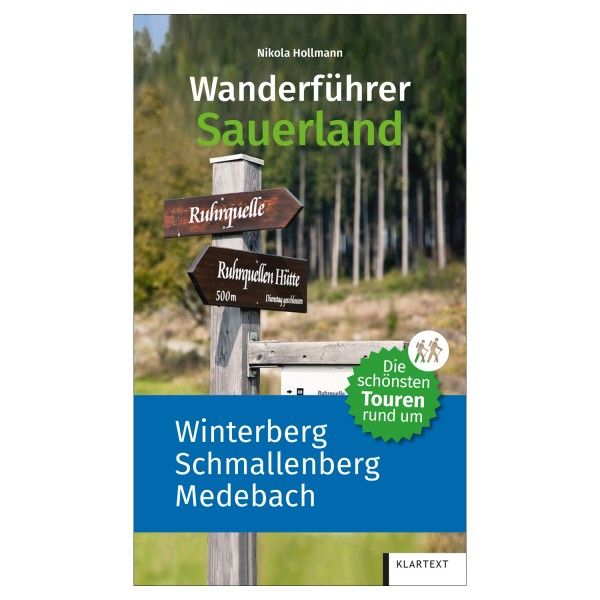 Wanderführer Sauerland Winterberg, Schmallenberg, Medebach