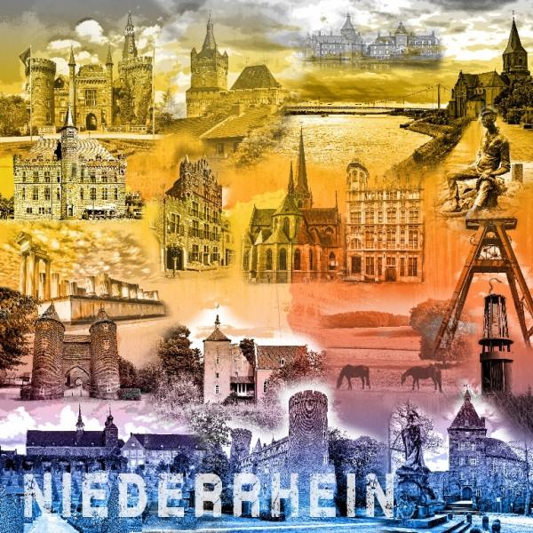 Collage Niederrhein